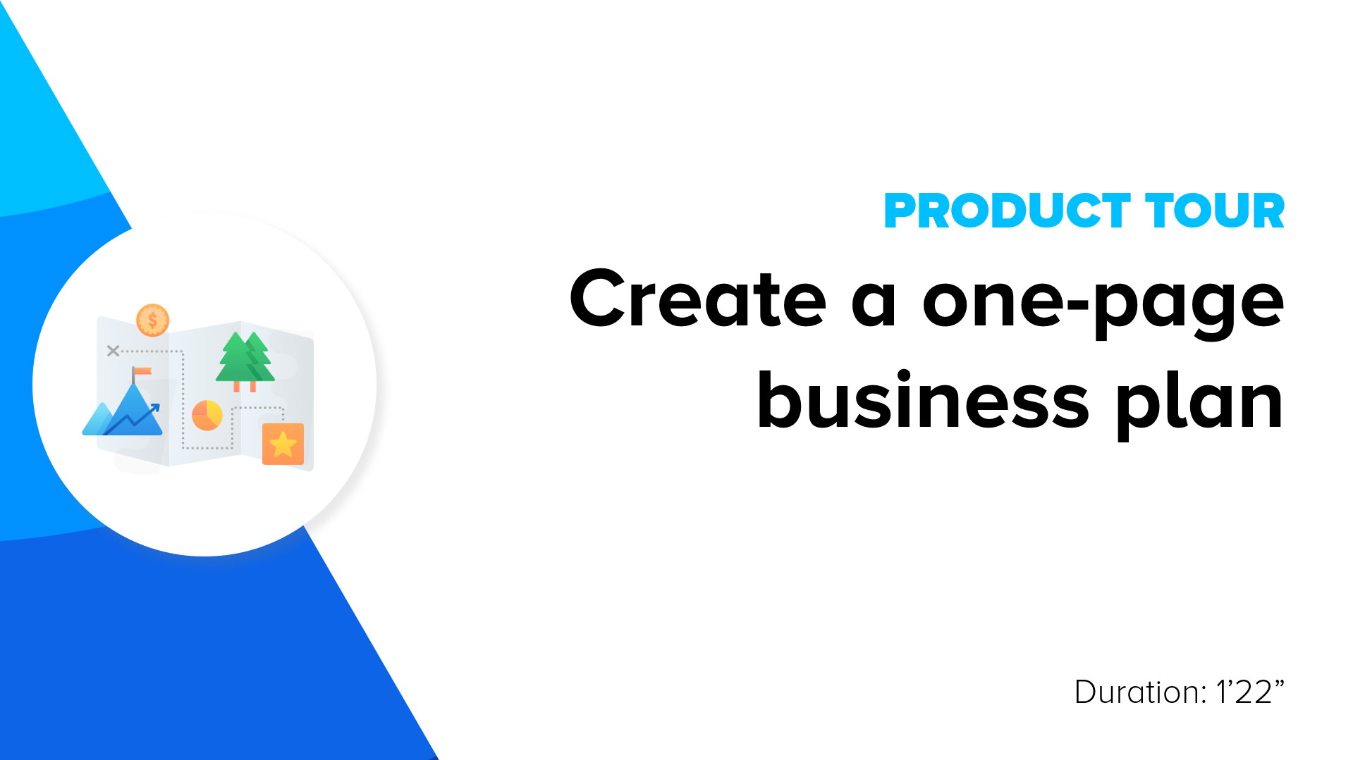 create a one page business plan