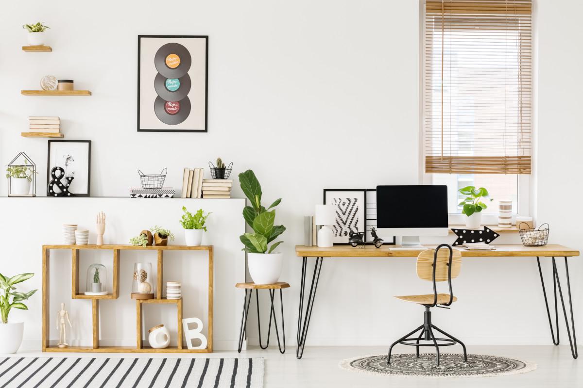best home office setup decoration