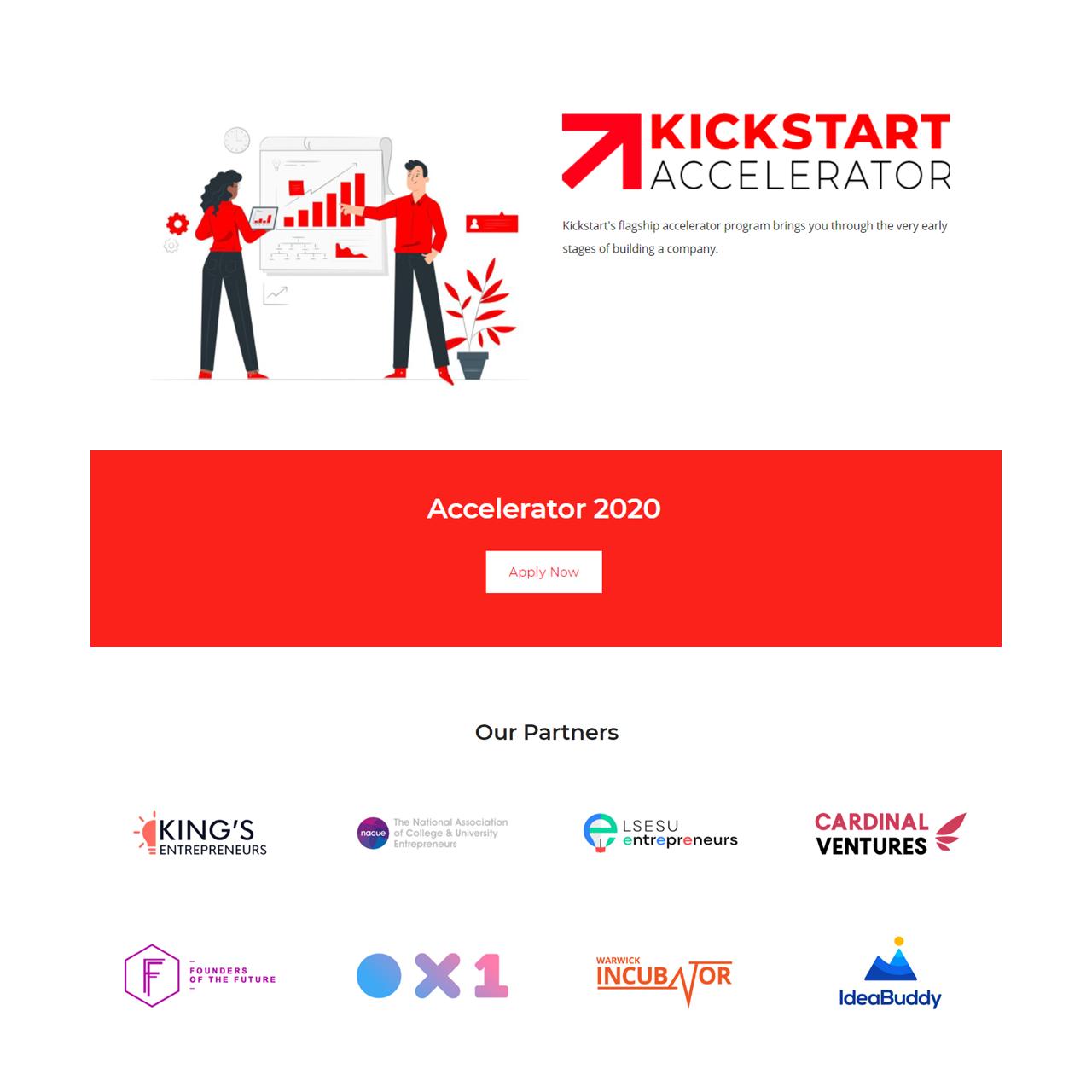 kickstart global ideabuddy partnership