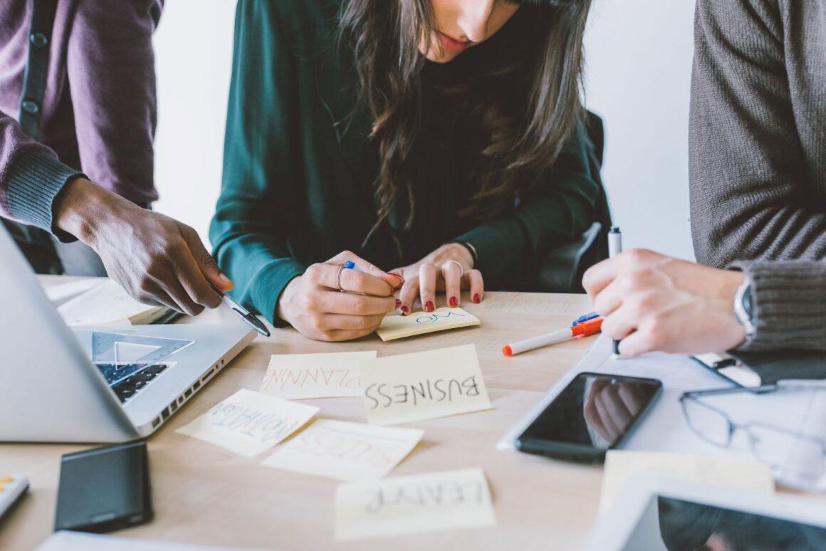 business canvas idea plan cover